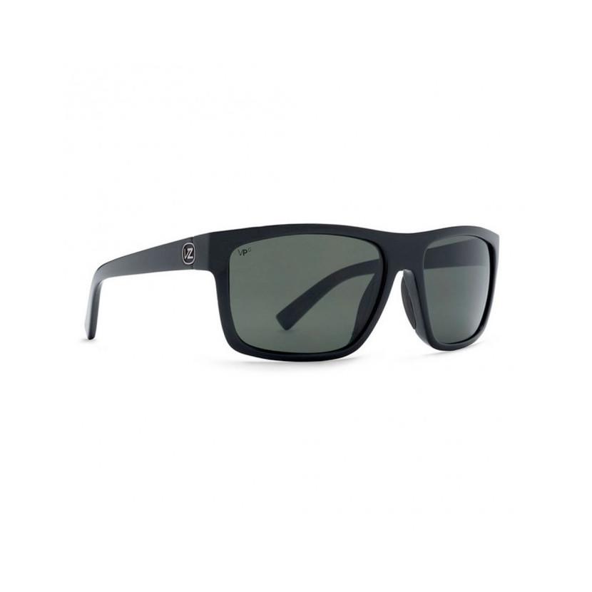 9dc9e52ea3 Von Zipper Speedtuck Sunglasses - Black Gloss - Wild Black Smoke ...