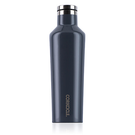 Gloss Graphite 16oz. Canteen