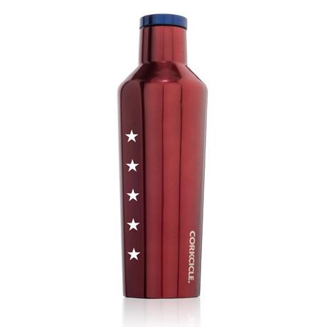 USA Red 16oz. Canteen
