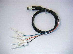 I2C & SMBus Clip Lead Cable 0.6 m (2 ft.) long