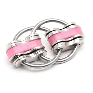 Noah Jumbo - Pink (Solid Rings)