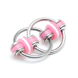 Stephie - Pink (Solid Rings)