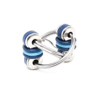 Stephie - Blue (Split Rings)