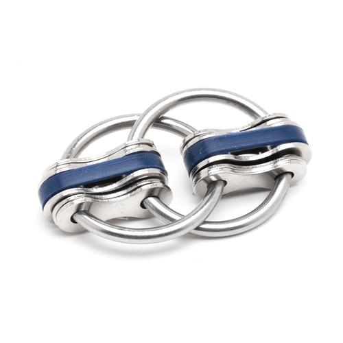 Noah - Blue (Solid Rings)