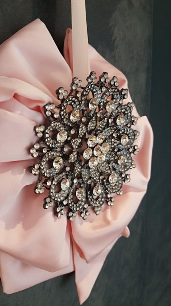 Katherine's Collection Pink Jewel Medallion Tree Decoration