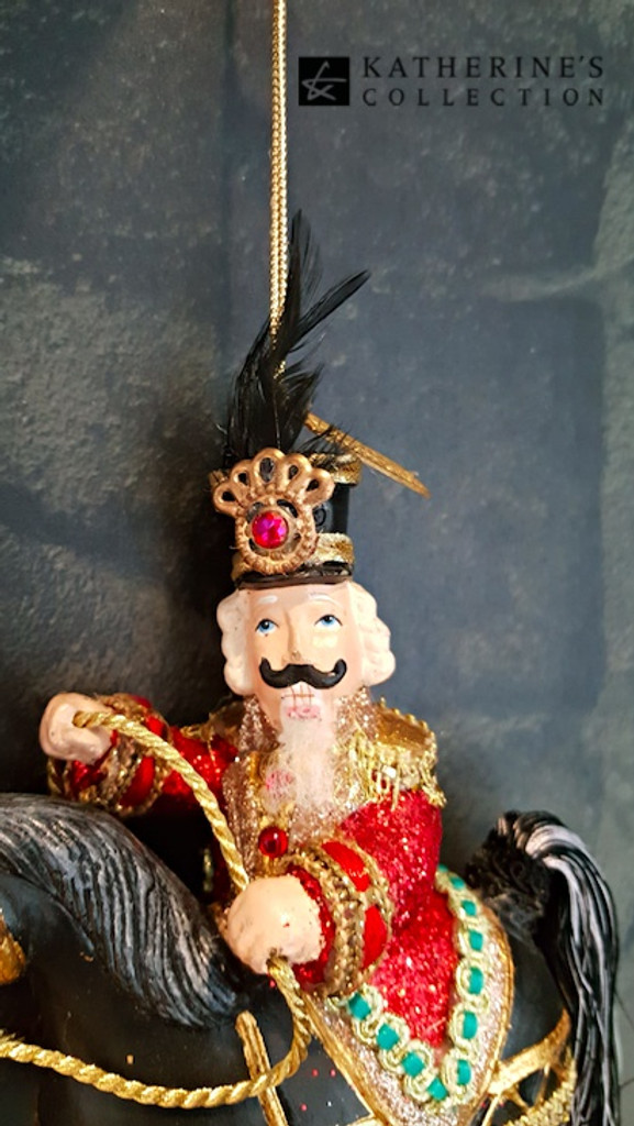 Katherine's Collection Nutcracker Tree Ornament