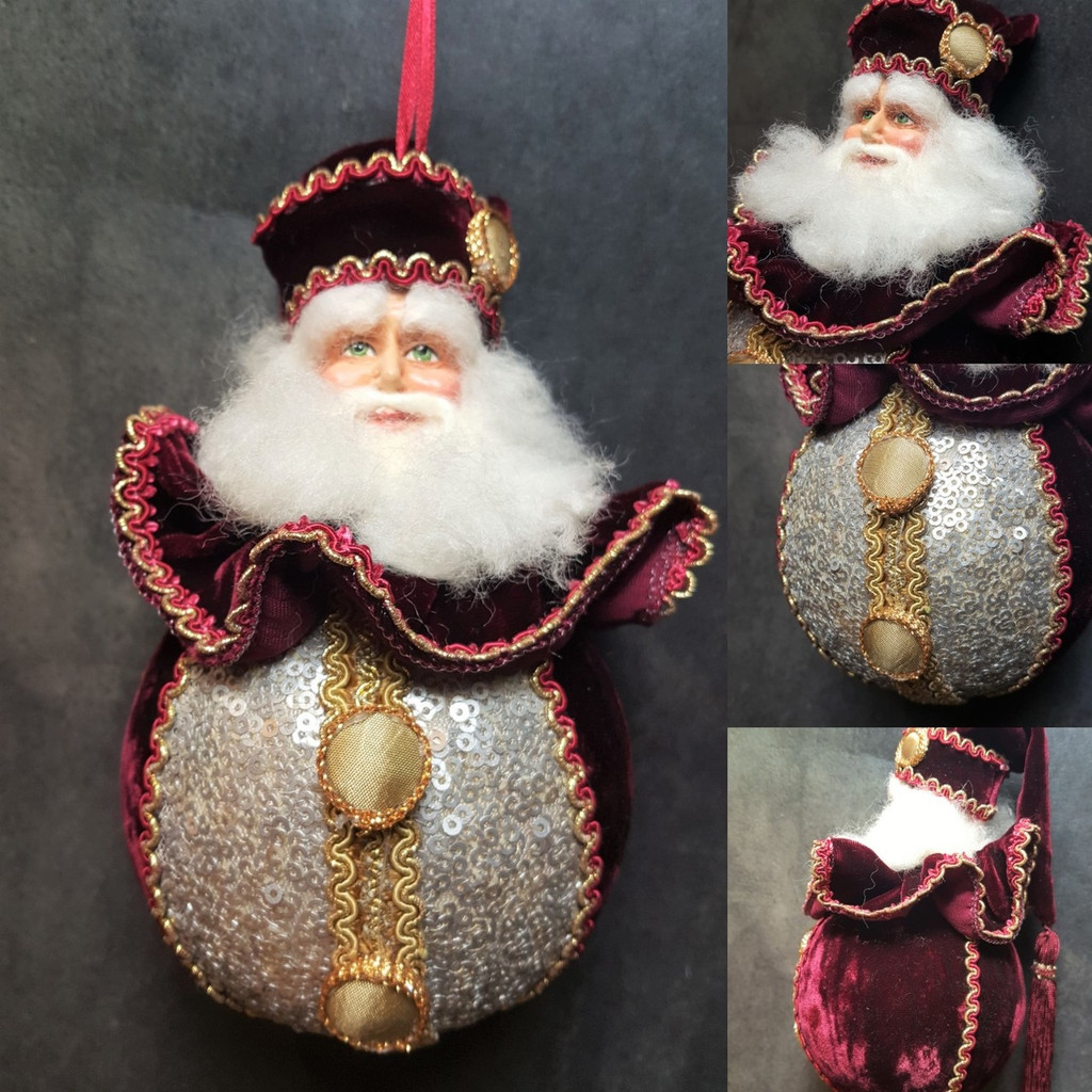 Katherine's Collection Journey Santa Bauble