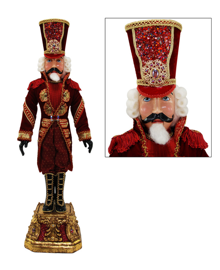 Katherine's Collection Captain Crimson Nutcracker