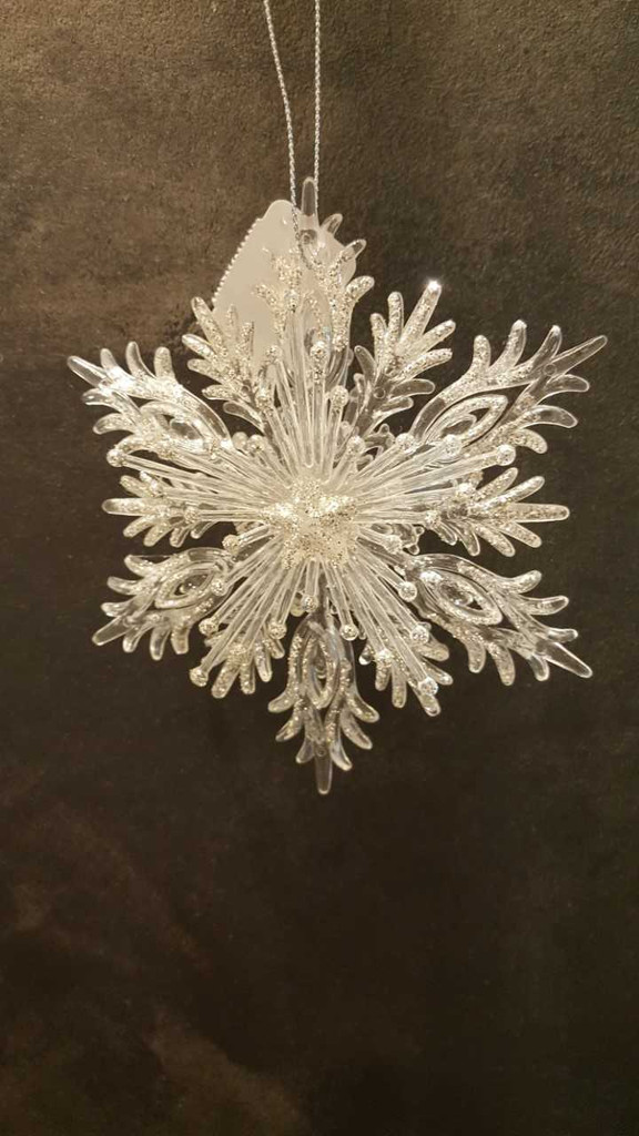 Katherine's Collection 3D Glitter Snowflake