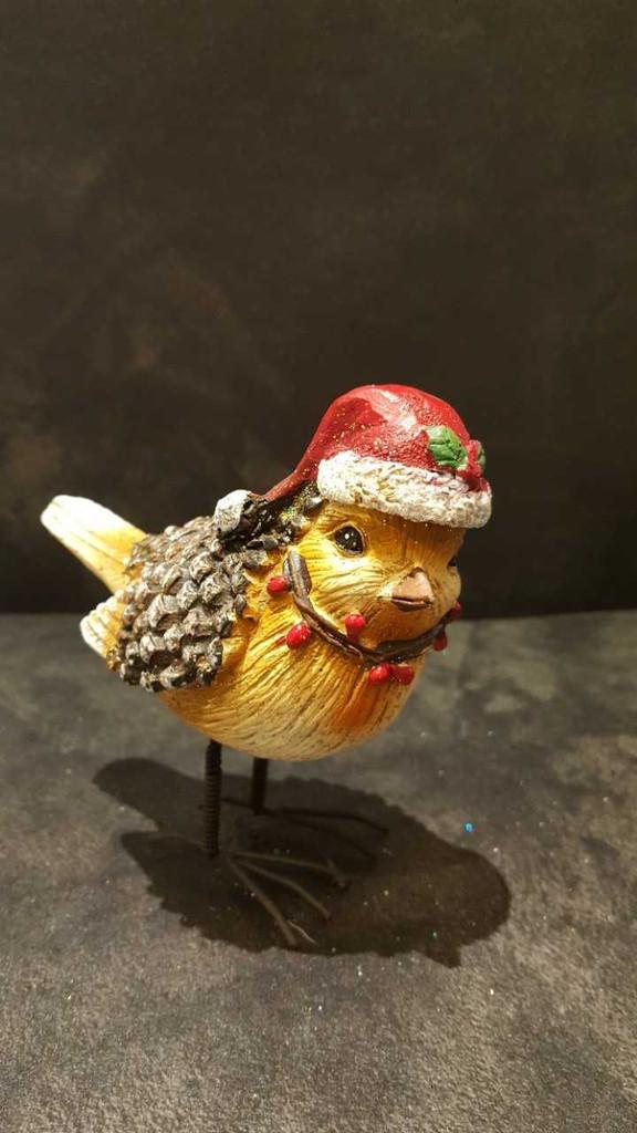 Christmas Robin Ornament Display