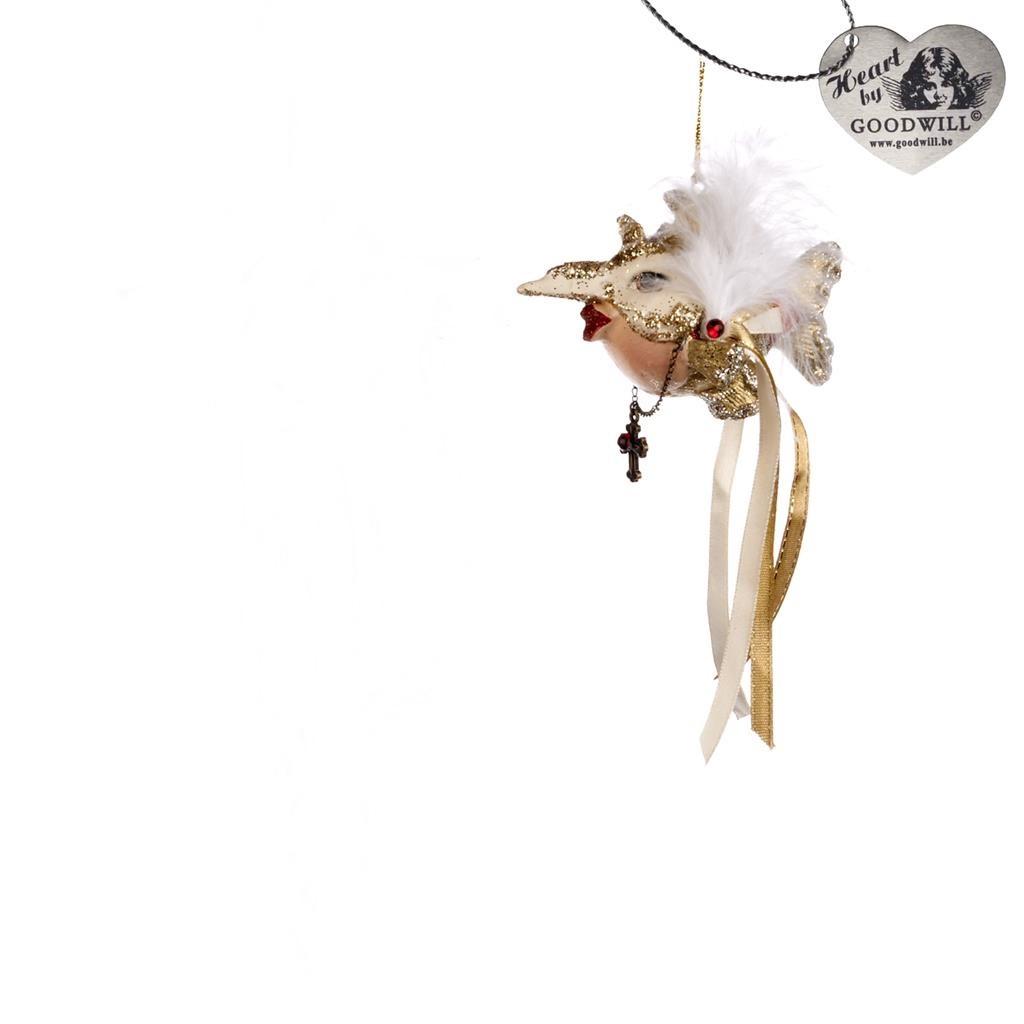 Phantom Kissing Fish Christmas Tree Ornament Display