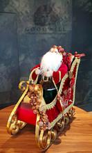 Large Display Santa And Sledge