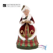 Mrs Clause Ornament