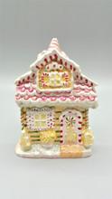 Candy House Christmas Table Display