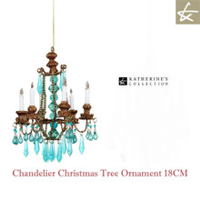 Katherine's collection Bohemian Christmas Tree Chandelier Hand Dusted Sparkling Glitter.