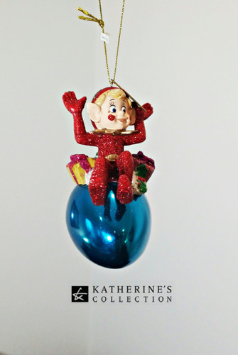 Katherine's Collection Elf Tree Decoration