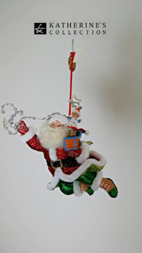 Katherine's Collection Santa Tree Decoration
