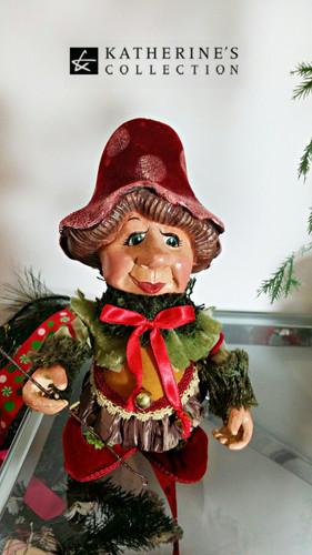Katherine's Collection Elf Mushroom Doll