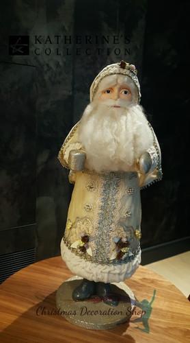 Katherine's Collection Santa Doll Display
