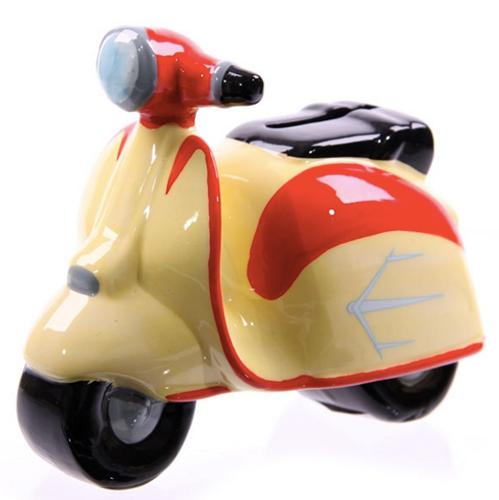 Retro Money Box Scooter