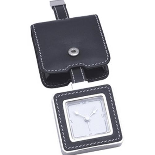 Leather Travel Clock