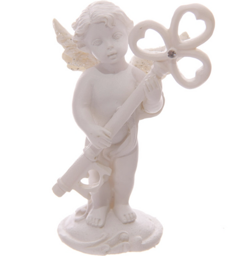 Cherub Key Ornament