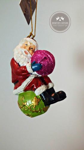 Christmas Tree Decoration Santa