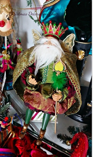 King Fairy Doll Display