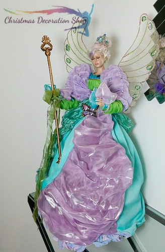 Large Fairy Doll Display