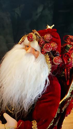 Christmas Santa Sledge Table Display