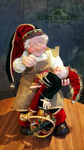Kurt's Adler Puppet Maker Christmas Doll