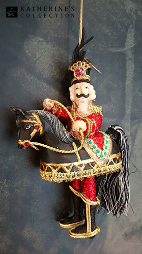 Katherine's Collection Christmas Tree Decoration Nutcracker