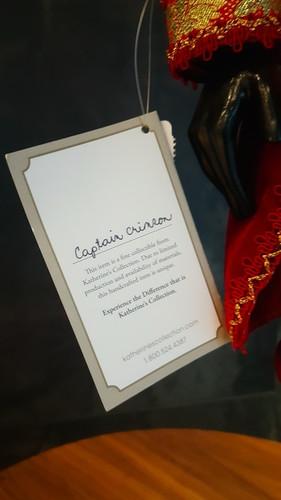 Katherine's Collection Captain Crimson Nutcracker