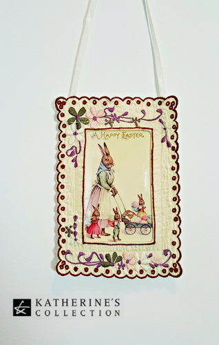 Katherine's Collection Easter Bunny Frame