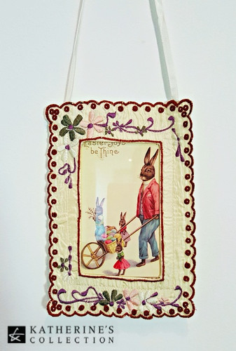 Easter Mr Bunny Wall Frame
