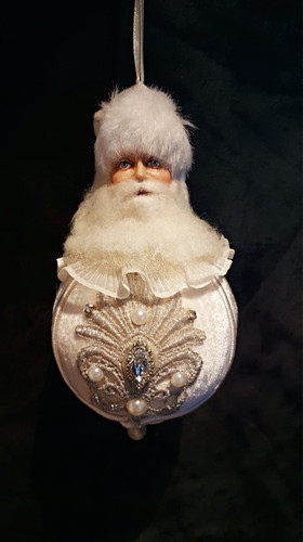 Katherine's Collection Snow Queen Santa Bauble