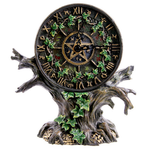 Astrology Tree Clock