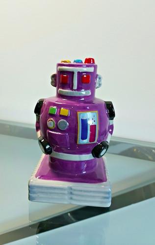 Retro Robot Money Box
