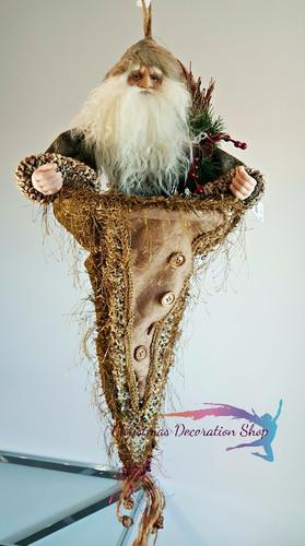 Santa Cone Stocking
