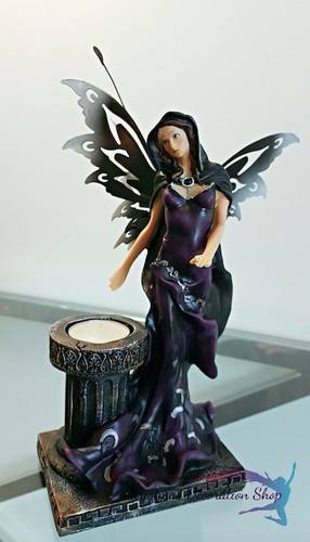 Midnight Fairy Candle Holder