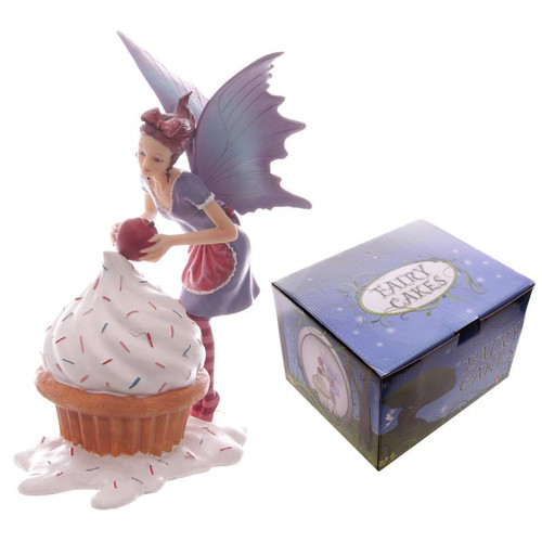 Cupcake Large Fairy Ornament Display