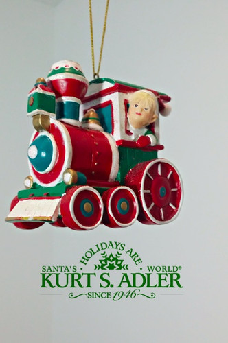 Kurt's Adler Elf Train Decoration