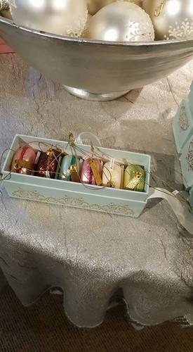 Handmade Glass Macaroons