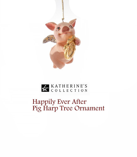 Katherine's Collection Cupig Tree Ornament