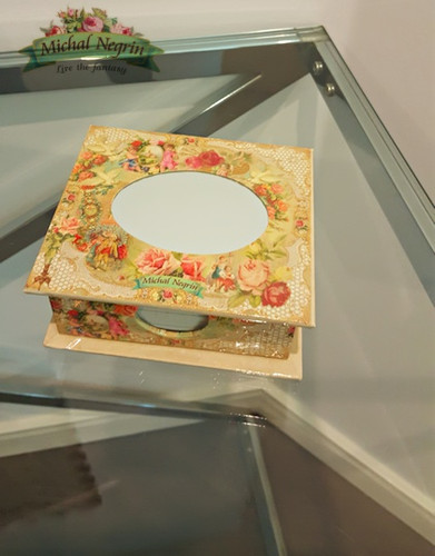 Michal Negrin Note Pad Mirror Box