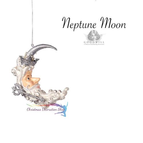 Neptune Moon Christmas Ornament