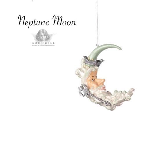 Neptune Moon Christmas Decoration