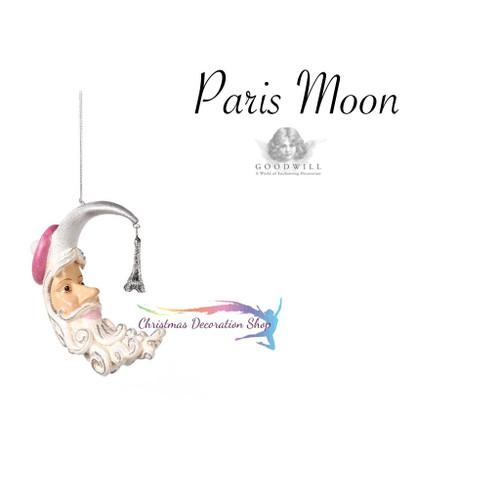 Paris Moon Tree Ornament