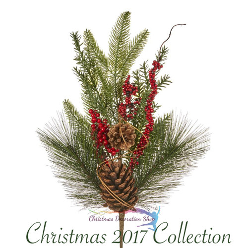Christmas Stem Berry Pine