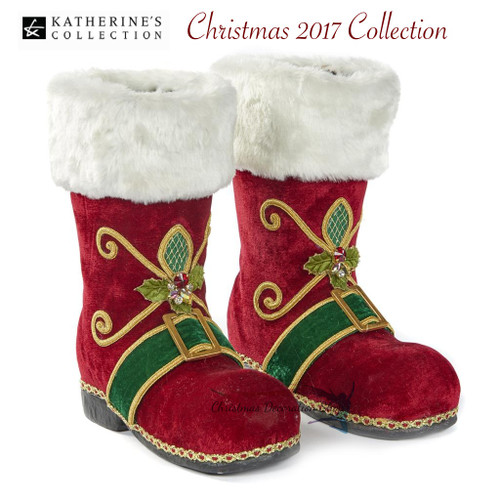 Santa Life Size Boots